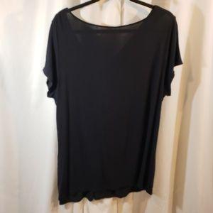 Tahari Tops - Tahari 16 18w tunic length slinky knit LLN top sho